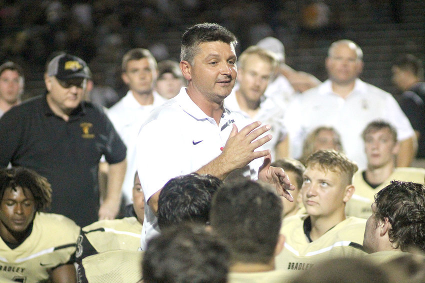 VETERAN HEAD COACH Damon Floyd is preparing for his 14th season at the helm of the Bradley Central program and is looking to lead his alma mater to its 10th straight TSSAA playoff appearances.