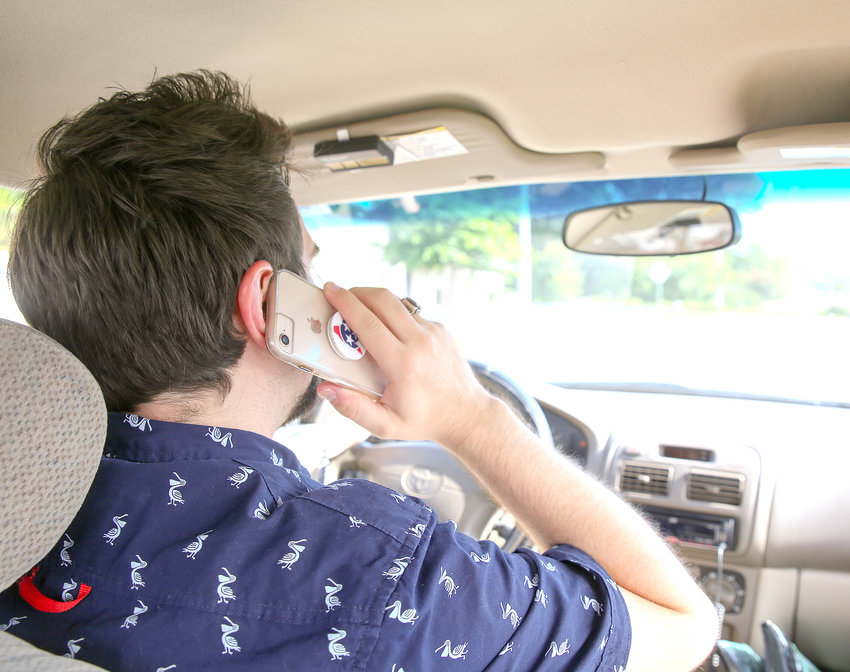 MOTORISTS who have a habit of driving while using their cellphones are reminded they'll need to change their ways. On Monday, July 1, a new state law takes effect in Tennessee that prohibits the use of a hand-held cellphone by a driver while a vehicle is in motion. Depending on the offense, fines can range from $50 to $200, while also adding three points to a violator's driving record.