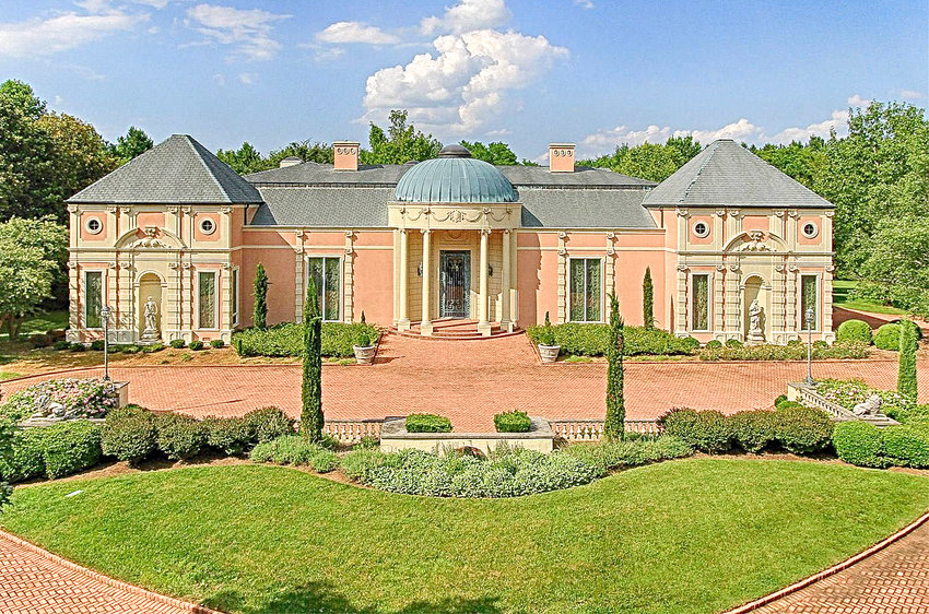 """The Anatole mansion of the late """"Red"""" Mullinax is on the market for $4.5 million."""