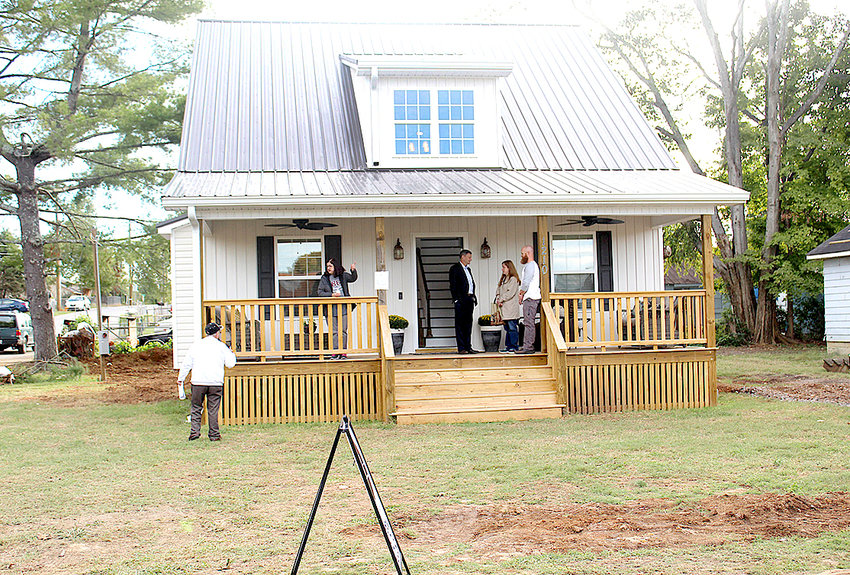 A NEW HOUSE built by community development organization City Fields last year in the historic Blythe-Oldfield neighborhood, was sold within days of completion. The organization also renovates existing houses in the neighborhood, some which date back to the early 20th century.