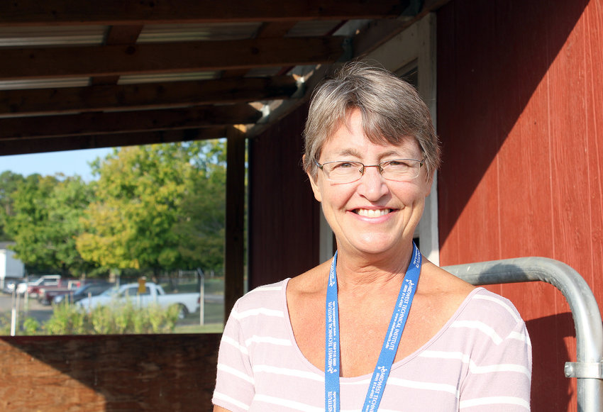 """LUANN CAREY, an award-winning agriculture teacher at Bradley Central High School, enjoys sharing her love of agriculture with her students, who she considers """"precious."""""""