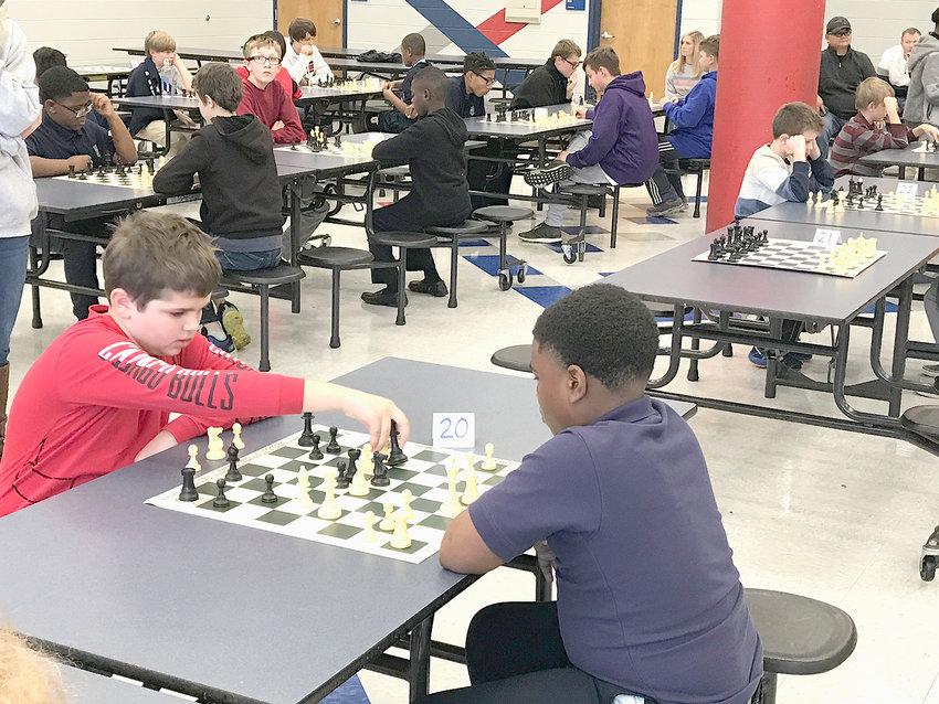 24th Annual Bradley County Chess tournament held Saturday.