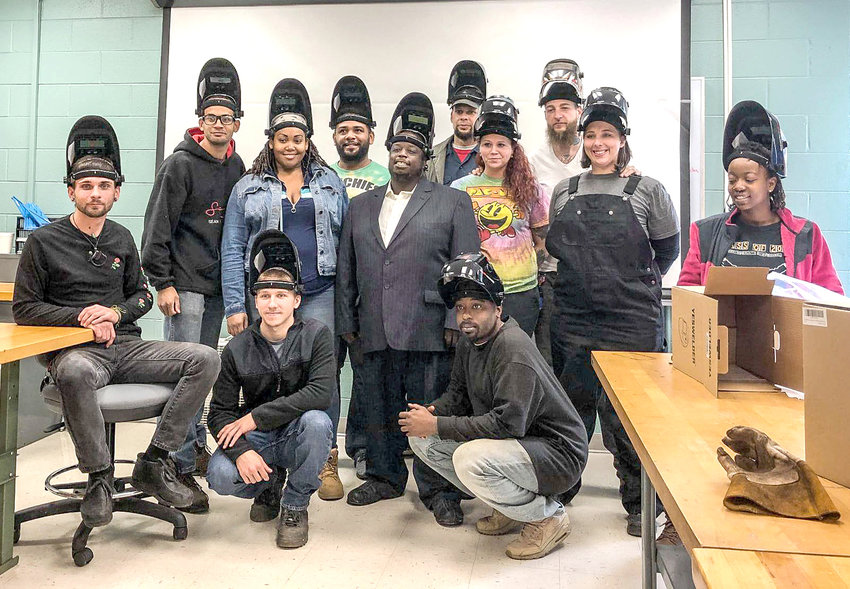 Cleveland State Community College and The Refuge are celebrating the successful completion of 12 new graduates from the Basic Mig Welding program.
