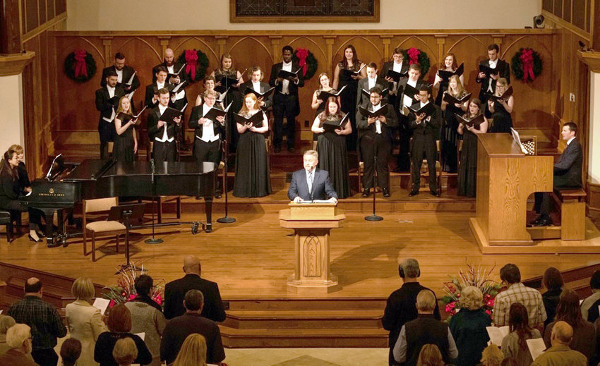 Lee University's School of Religion  and School of Music will present the ninth annual Lessons and Carols on Thursday, Dec. 12, 7:30 p.m. in the Lee Chapel.