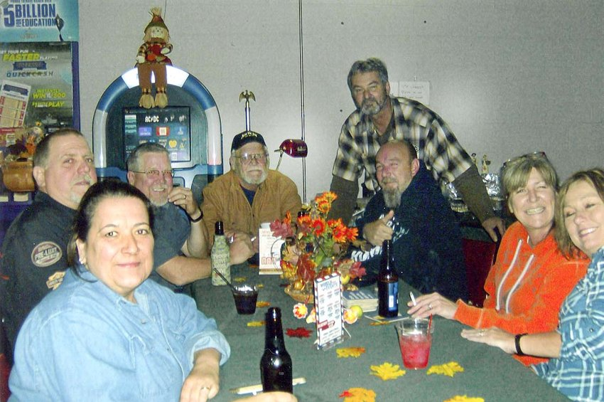 VFW Post 2598 recently gave a Thanksgiving dinner on for members and veterans. There were about 30 people in attendance. The event was organized by Janice, Renzie and Martin Johnson with Faye and Ted Dobbs assisting. This photo shows some of the attendees at the party.