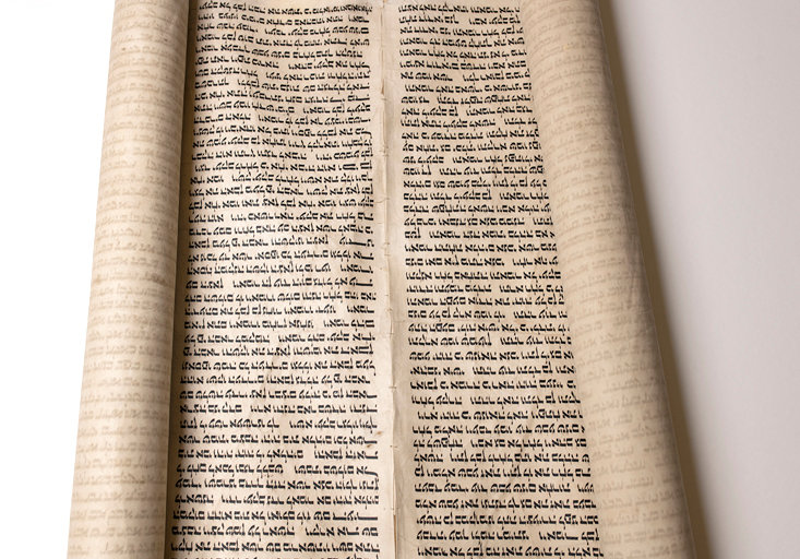 The Genesis Scroll is an  early Hebrew text of Genesis 26:19-35:18. It was written by hand on parchment.