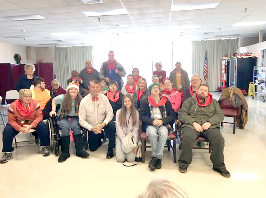 THE LIFE BRIDGES Choir, under the direction of Terry Caywood, recently visited Bradley Healthcare and Rehabilitation Center. The groups sang songs and encouraged residents to participate in the singing of well-known songs.