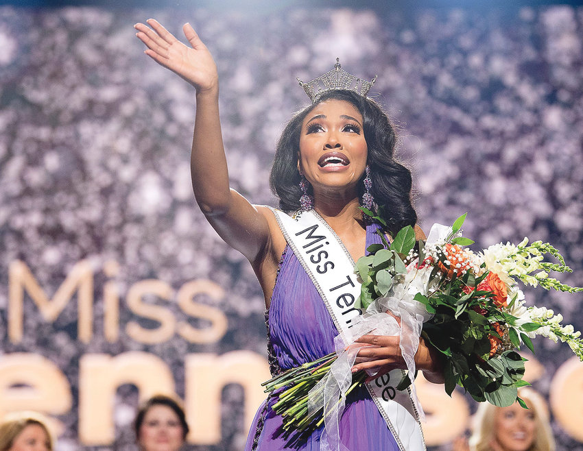 BRIANNA MASON, above, a graduate of Ravenwood High School and the University of Tennessee at Knoxville, became the first African American woman to win the Miss Tennessee crown. The inspirational speaker will visit Cleveland Middle School on Friday morning as a special guest of 100 Black Men of Bradley County Inc. Her appearance in Cleveland will kick off eight days of community activities in tribute to slain Civil Rights leader Dr. Martin Luther King Jr.