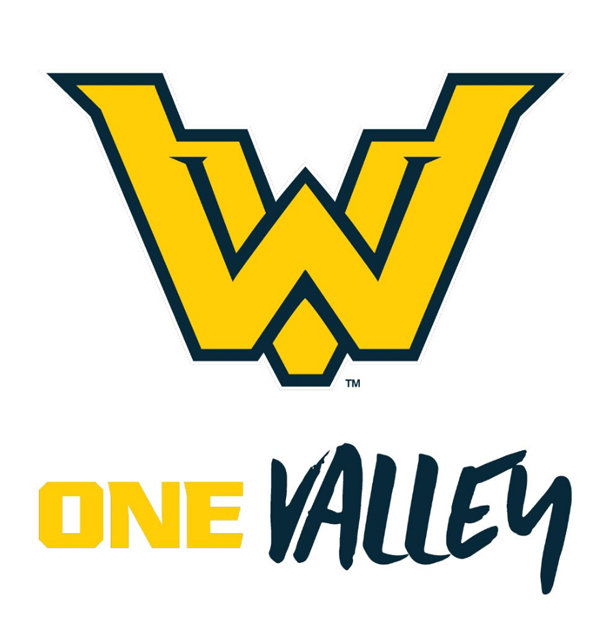 Two of Walker Valley's new logos are shown.