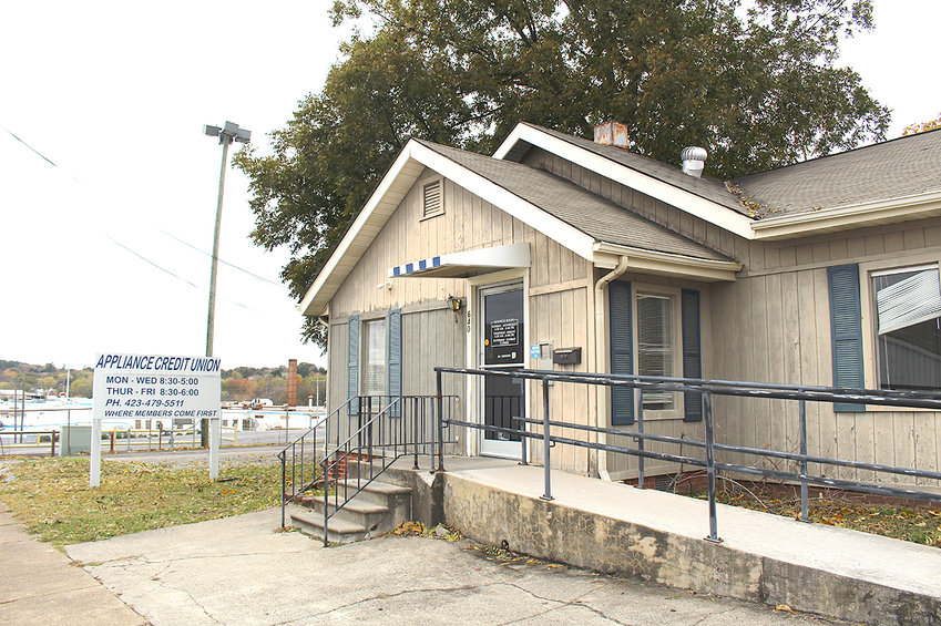 APPLIANCE CREDIT UNION is shown at its current home at 640 King Edward Avenue S.E. The credit union plans to move to a  new location this spring.