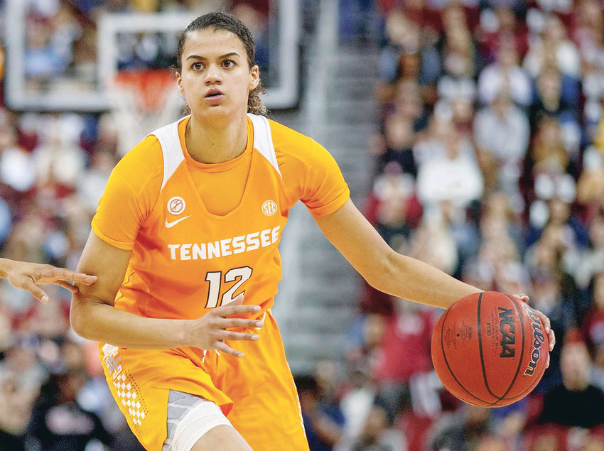 TENNESSEE SOPHOMORE Rae Burrell netted 21 points in Thursday's Lady Vol loss at No. 22 Arkansas.