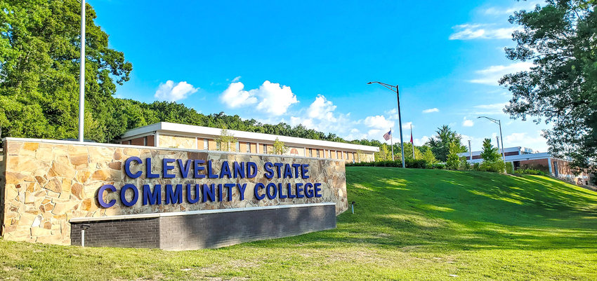 THE MAIN CAMPUS of Cleveland State Community College has undergone major changes this summer. Students returning this fall will see everything from the new Health and Science Center nearing completion to a brand new store front at the corner of Adkisson Drive and Norman Chapel Road.