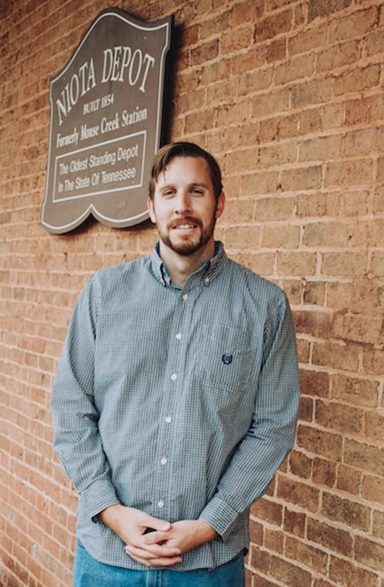 TYLER BOYD, a Lenoir City educator and descendant of state legislator Harry T. Burn, has been sharing how Burn placed a pivotal vote for women's suffrage.