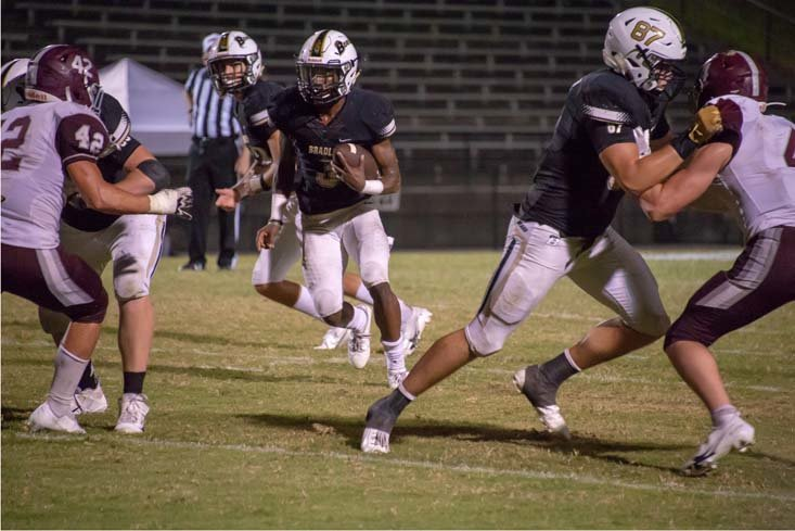 WEARING HIS brother Javin's No. 3 jersey, Bradley Central senior Javon Burke has stepped out of the shadows and into the spotlight to help lead the Bears this season.
