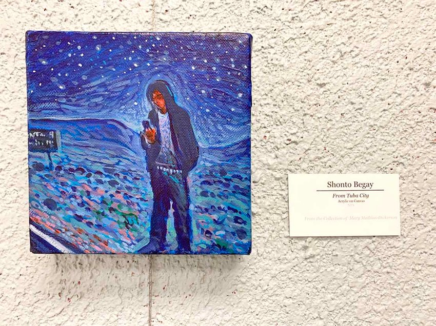 """""""From Tuba City"""" by Shonto Begay will be showcased from Mary Mathias-Dickerson's collection at the Lee University Squires Library gallery."""