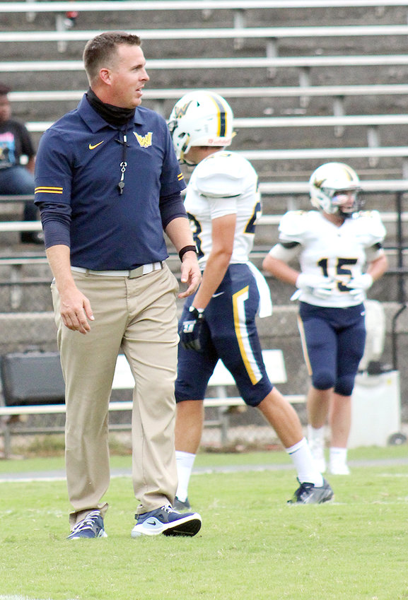 WALKER VALLEY head wrangler Drew Akins has been named the 2020 Region 4-5A Head Coach of the Year.