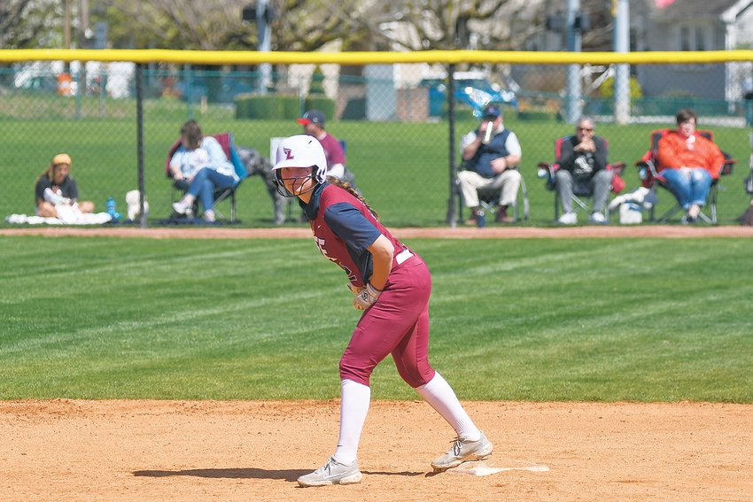 LEE'S Annalyn Ormsby completed the series sweep of the Montevallo Lady Falcons for the Lady Flames with her second home run of the season, Sunday at Butler Field.