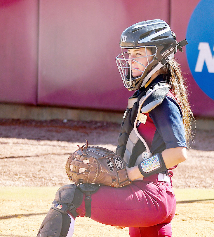 LEE UNIVERSITY'S Madison Besaw hit a grand slam in Game 1 and had three hits in Friday's DH at West Georgia.