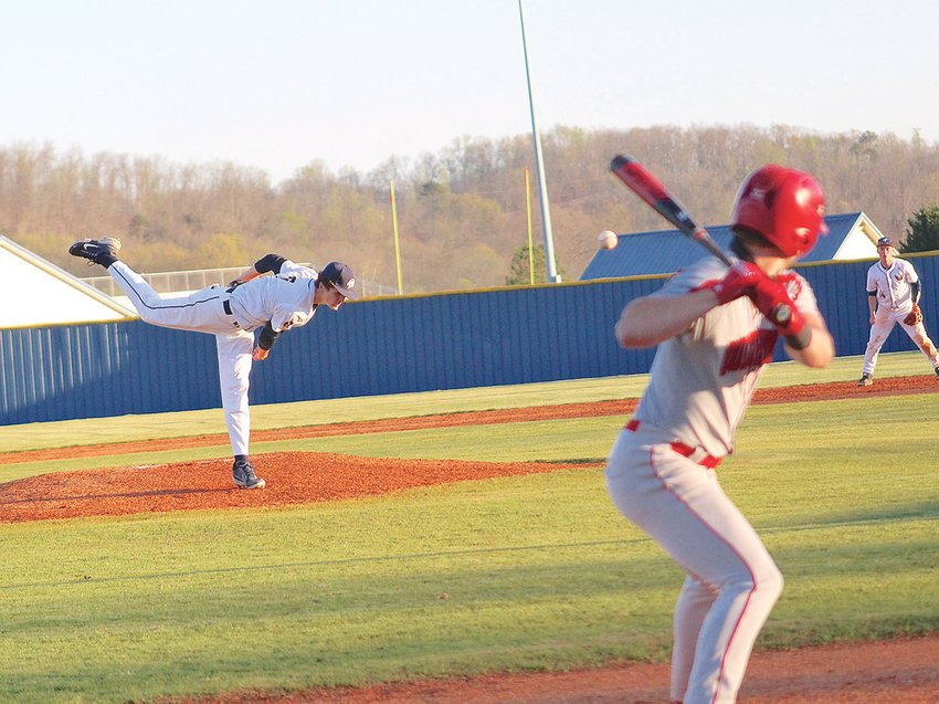 WALKER VALLEY starter Ben Smith struck out a dozen Ooltewah batters and allowed just three hits in Monday evening's 5-3 victory, at Mike Turner Field.