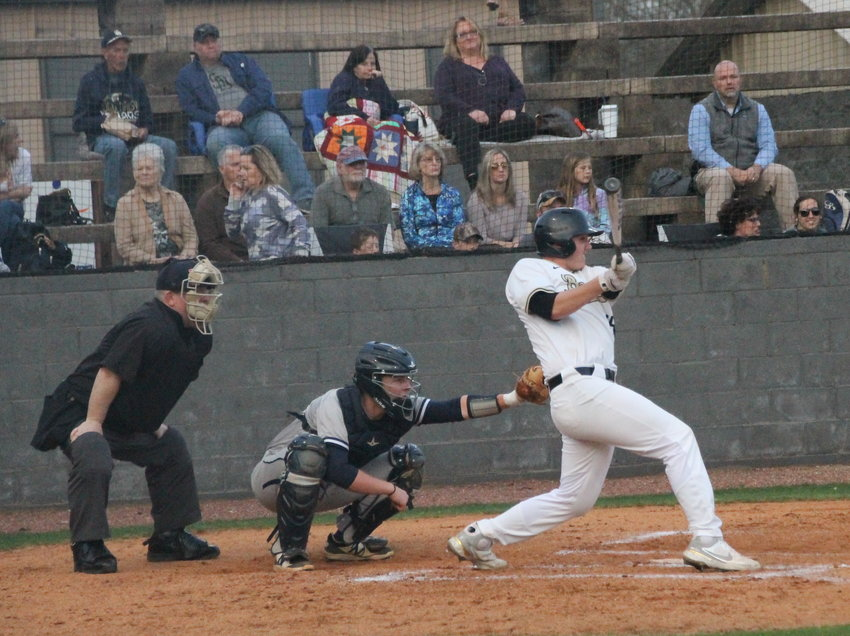 ETSU COMMIT Cooper Casteel went 3-for-4 and drove in a run, plus tossed three shutout innings of one-hit ball in a 7-2 victory over Gibbs last Friday.