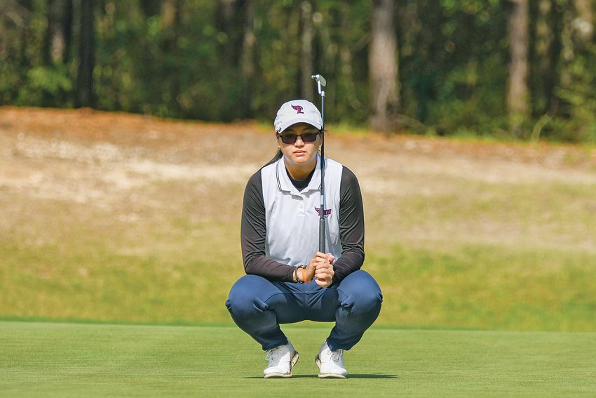 LADY FLAMES' GOLFER Supuschaya Srichantamit is the first Lady Flame to win the GSC individual championship.