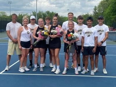 Bradley Central tennis seniors