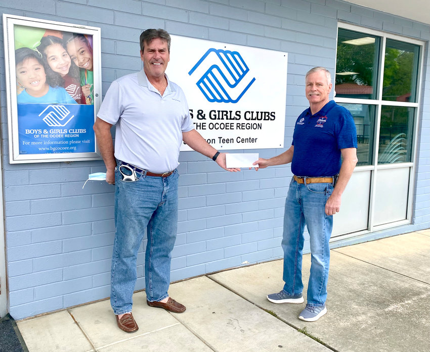 THE BOYS & GIRLS CLUB Alumni Golf Tournament is scheduled for May 8 at Chatata Valley Golf Club. Tee time is 8:30 a.m. There are a few team spots still available. For more information, contact Wanda Evans at (423) 488-7313 or Bobby Greene (423) 244-1630. Pictured are Bobby Greene, right and Boys & Girls Club supporter Ed Jacobs.