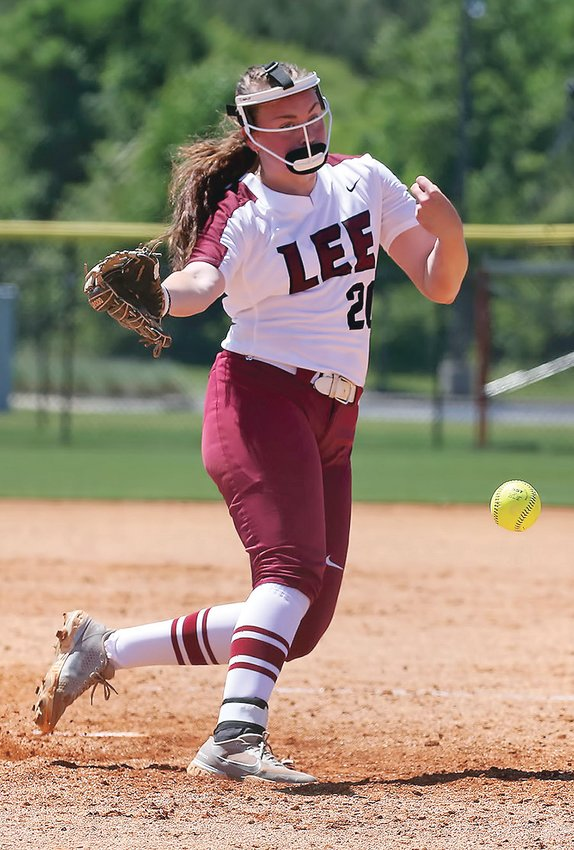 LADY FLAMES' Madison Barnett  worked 9.2 innings  allowing just three runs while striking out 11  in two games at the GSC softball tournament Thursday in Oxford, Ala.