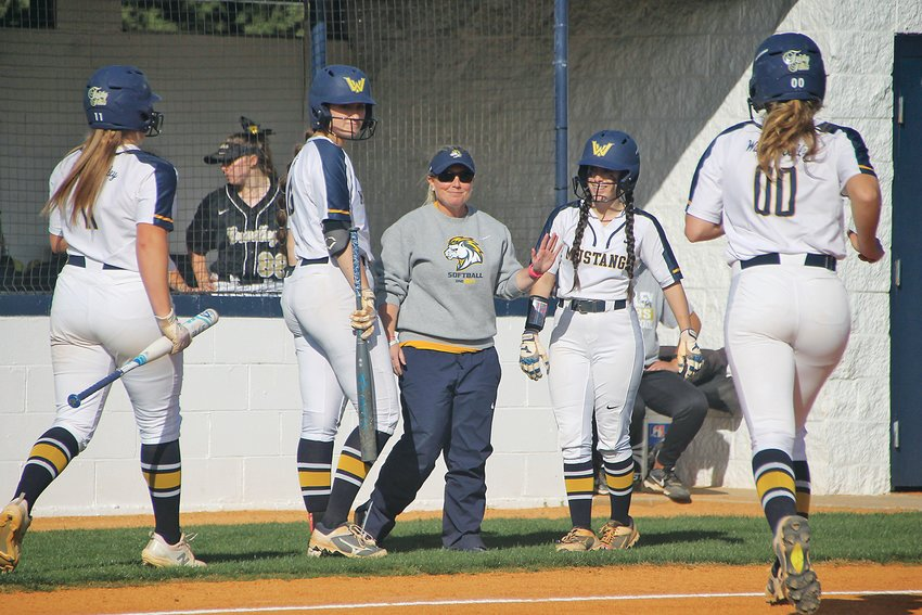 VETERAN WALKER VALLEY  head coach Lauren Limburg, center, has her Feisty Fillies ready to open the District 5-AAA Tournament at the No. 3 seed and will host sixth-seeded McMinn County tonight.