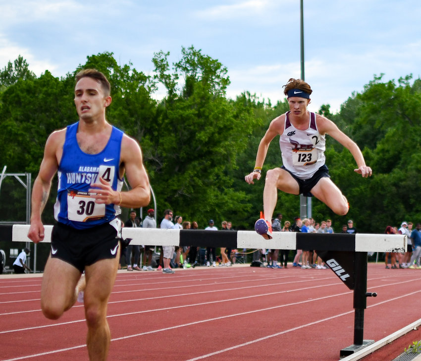 LEE UNIVERSITY'S Thomas Kelton earned an automatic bid to the NCAA D2 Nationals on Saturday in the 3000m Steeplechase.