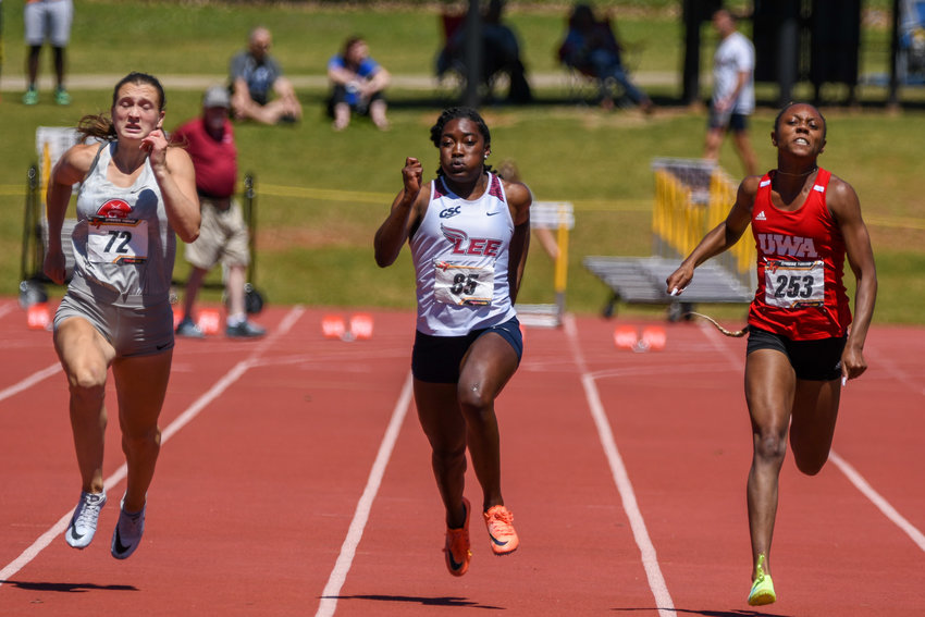 LEE UNIVERSITY'S Kristen Blevins hopes to hear her name called for the NCAAD2 Nationals on Tuesday.