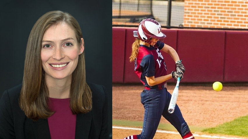 FORMER LEE UNIVERSITy/ Lady Flame Annabeth Pruett is making a career of giving back to the local community with her medical skills.