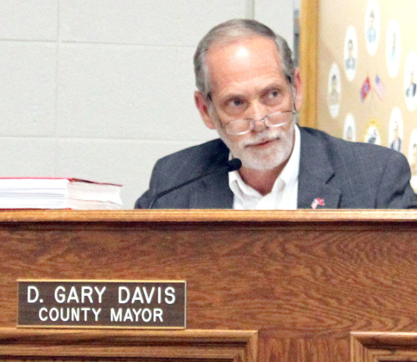 BRADLEY COUNTY Mayor D. Gary Davis reviewed his 2021-22 budget proposal with the Bradley County Commission Monday night.