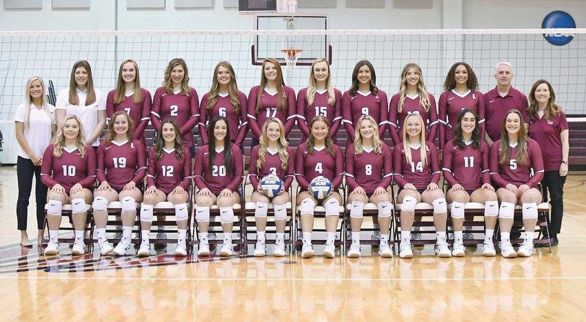 THE LEE LADY FLAMES volleyball team earned the USMC/AVCA Team Academic Award for the 2020-2021 season.
