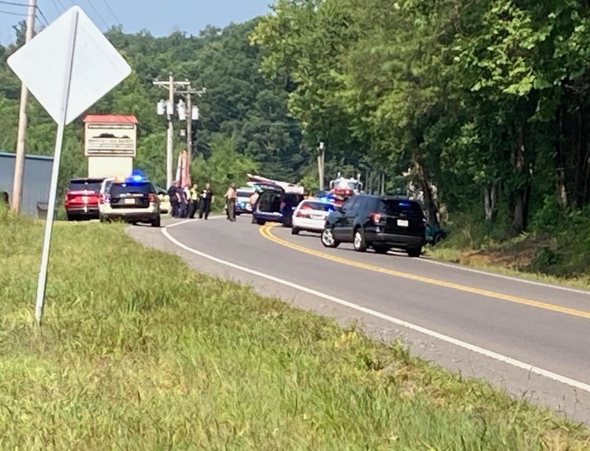 MULTIPLE emergency-service agencies are responding to a three-vehicle crash on North Lee Highway in the area of Wilson Heights Circle N.E. The crash occurred shortly after 4 p.m. Thursday.