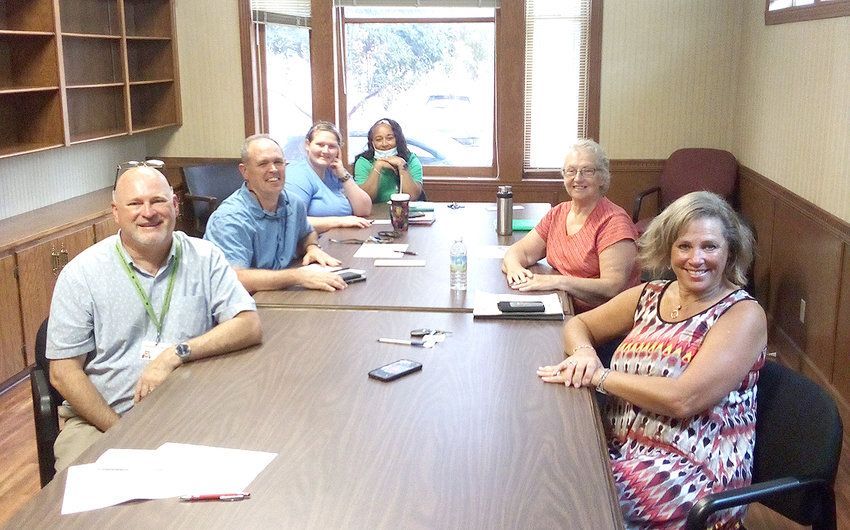 New Adventures to hold kick-off meeting Sept. 8 at Cleveland Bradley County Public Library. From left are Andrew Hunt, Paul Wyrick, Leah Banks, Shneka Jones, Donna Botterbusch and Kathy Davini.