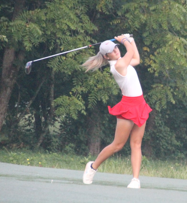 CLEVELAND HIGH senior Hannah Nall fired a 3-under-par 69 to win the City Prep Tournament, Wednesday at the Bear Trace Course at Harrison Bay.