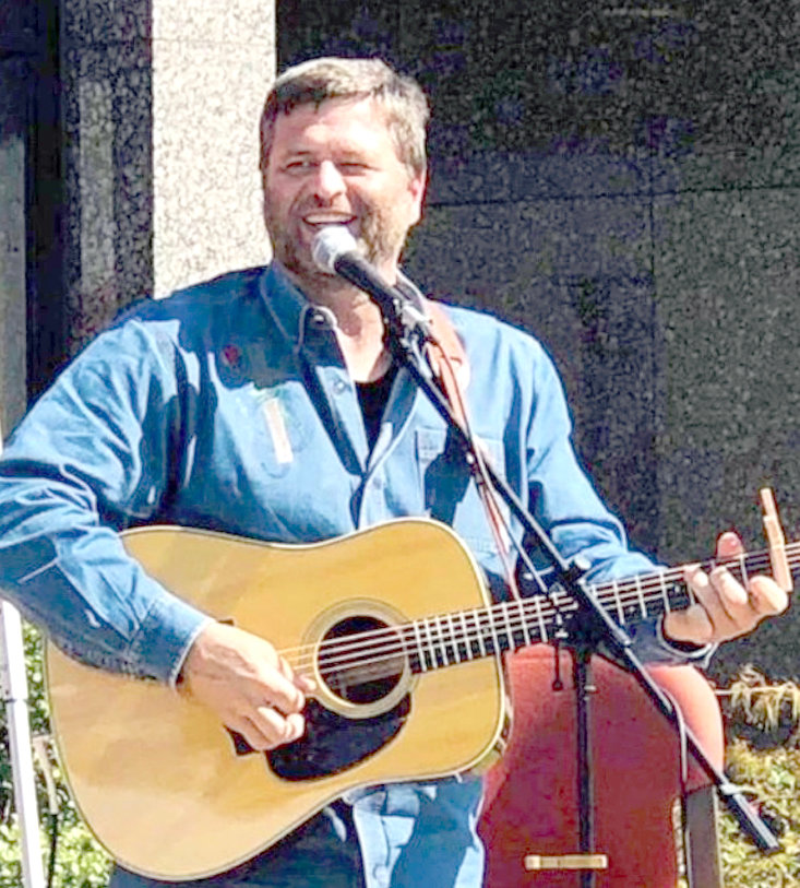 """AWARD-WINNING Inspirational singer, evangelist, and song-writer, Greg McDougal will headline at the Cowboy Gospel Jubilee tonight at 7.  Winner of ICM """"Evangelist of the Year"""" multiple times over the past 12 years, McDougal sings and plays his Martin guitar and shares the love of Christ and stories of His provision.  The Jubilee is hosted by the Cleveland Cowboy Church every Friday night from September to April.  Located at 3040 Blythe Road off of Dockery Lane, the Jubilee is a free show. A love offering is taken for the headliners."""