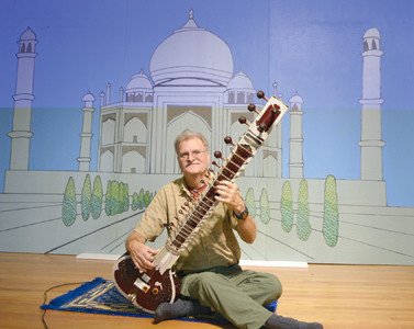 JOSEPH RIDOLFO performed traditional Indian music on sitar at Sunday's India Festival 2015, which was held at the First United Methodist Church of Cleveland. The event was held to explain the work being done at the Mary Diana Samuel Homes for Girls in India, and seek local donations to help fund the home. Mary Diana Samuel died from a car accident in 1995, and the home was created by her father, Dr. Aaron Samuel, as a safe place for girls in India, as well as a site for education and spiritual service to the girls.