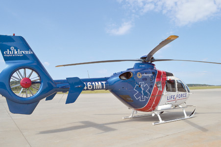 THE LIFE FORCE HELICOPTER'S home in Bradley County, at the Cleveland Regional Jetport, should be built by January 2016. The hangar will operate 24 hours a day, every day of the year.