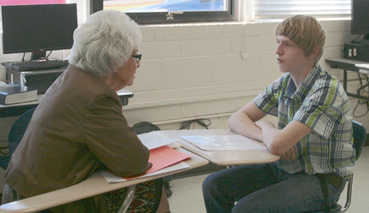 Goal Academy students practice interview skills | The
