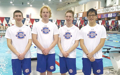 Chs swim team the cleveland daily banner for Cleveland high school swimming pool