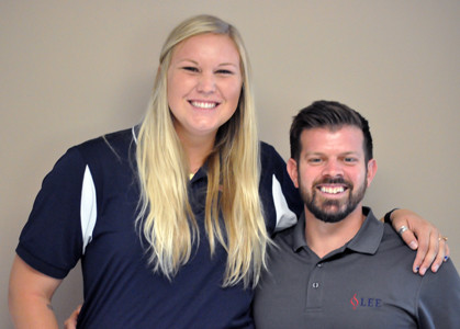 Bryan and Haleigh Carvalho will join veteran head volley ball coach Andrea Hudson at Lee University.