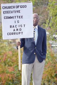 Florida pastor protests against COG leadership | The Cleveland Daily