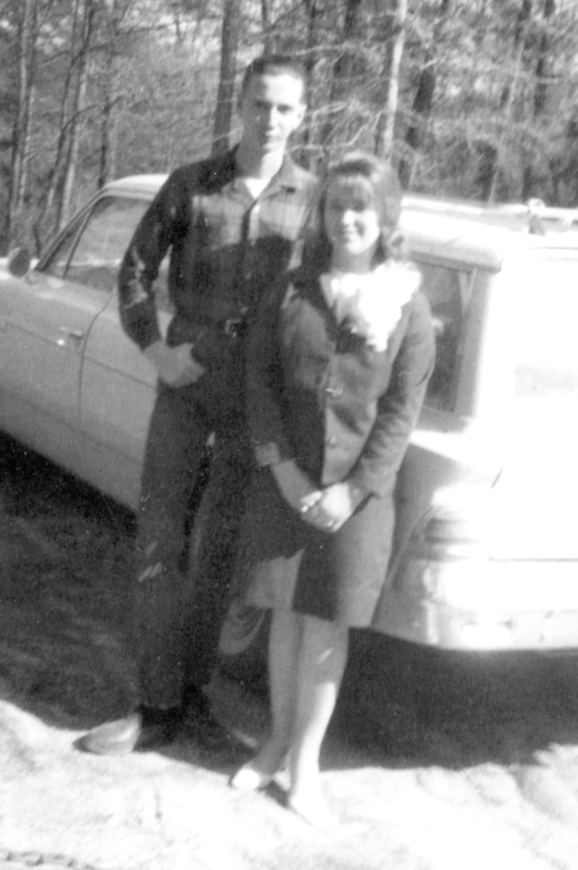 The anniversary couple met at Oak Grove School when she was 13 and he was 17. They ran off to get married when she was 16 and he was 19.