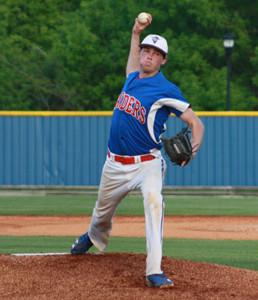 CLEVELAND ACE Camden Sewell struck out six McMinn County batters through four innings, to up his season total to 57 through 38 2/3 innings. However, the University of Tennessee commitment was the hard-luck loser in a 12-7 District 5-AAA defeat at home Wednesday night.