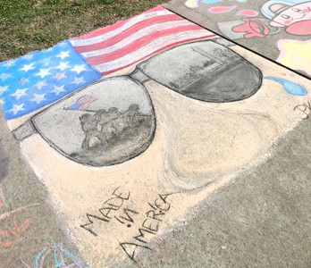 "ON SATURDAY, the Greenway will receive a bit of a ""facelift,"" as community members come to Chalk the Walk. Artists of all levels are invited to ""buy"" a small segment of the Greenway to decorate at the event."