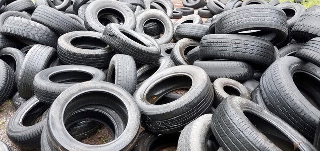 USED TIRES ARE BEING disposed of illegally in certain areas of Cleveland, and the city's Codes Enforcement Office and Cleveland Police Department are cracking down on the crime. Both organizations are asking anyone who may see such illegal activity to contact them.