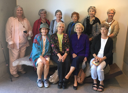 Ten members attending were, from left seated, Mary Ruth Younger, Jeanette Schlaeger, Shelley Hagler and Cindy Draper. Standing are Crystal Rymer, Nora McNeill, Mary Margaret Stamper, Rachel Savage, Ann McCoin and Jennifer Fidler. Contributed photo