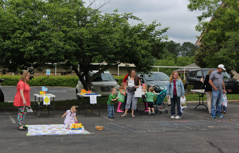 CHILDREN OF ALL ages were able to enjoy Big Truck Round-Up, which also featured a fun, active learning section.